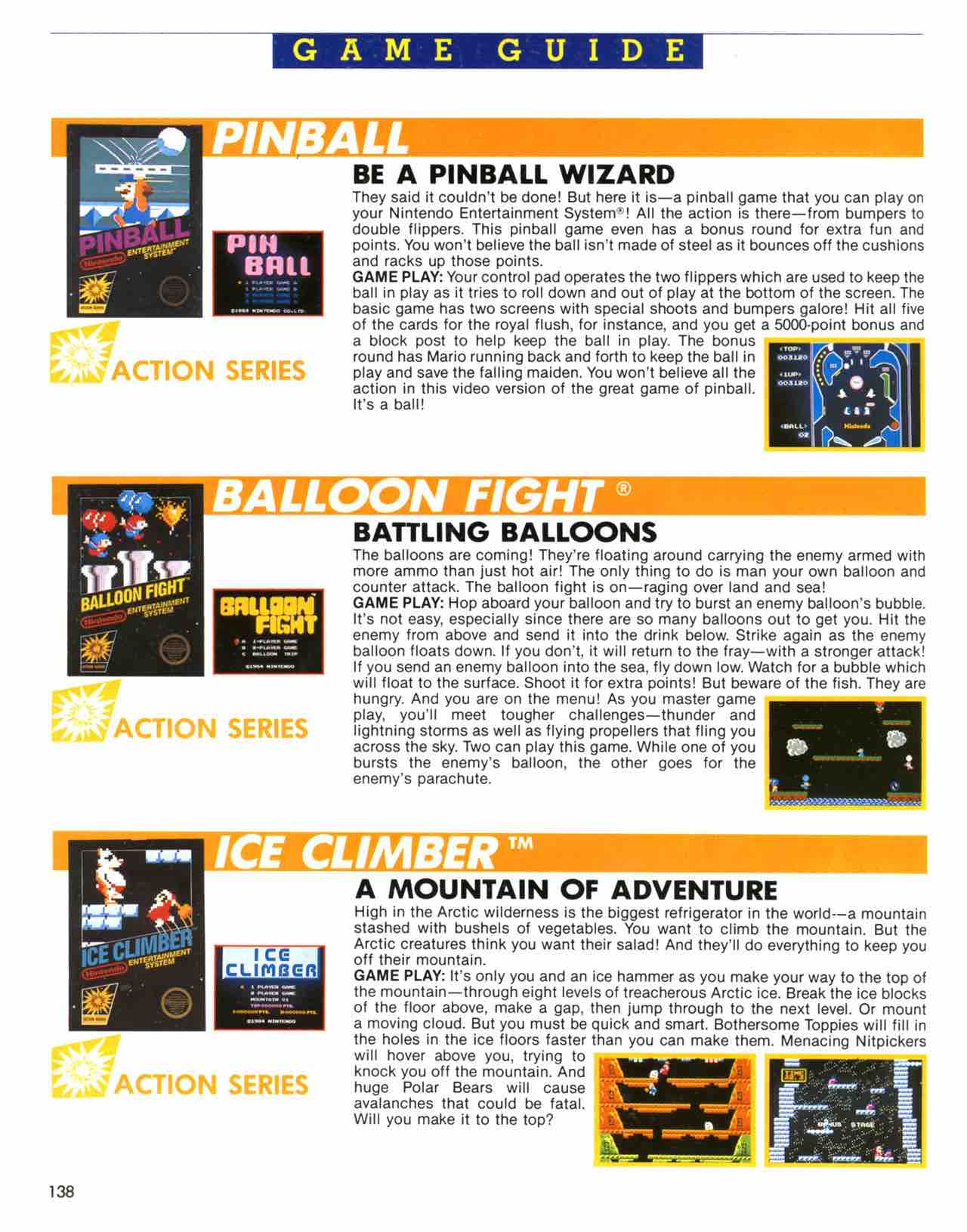 Official Nintendo Player's Guide Pg 138