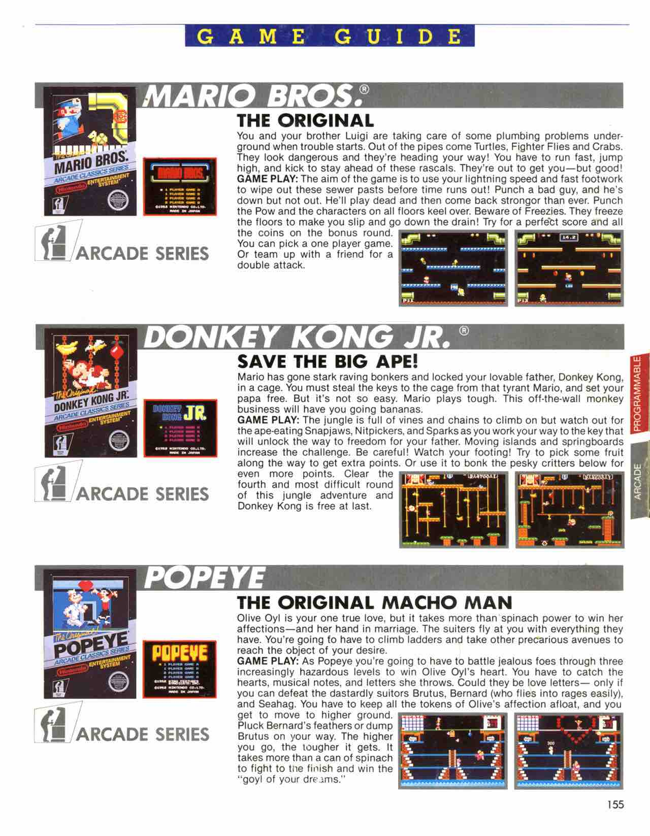 Official Nintendo Player's Guide Pg 155
