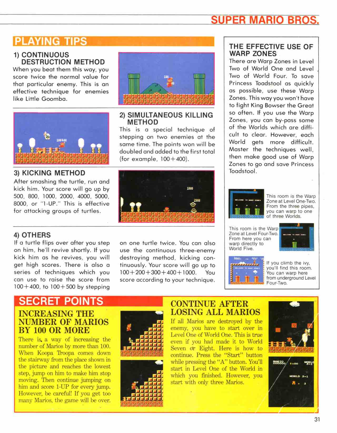 Official Nintendo Player's Guide Pg 31