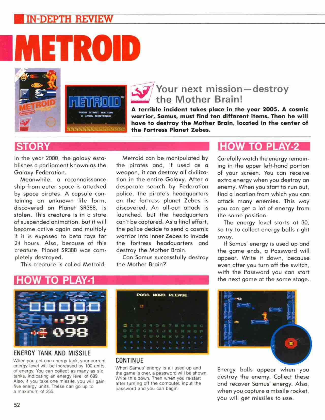 Official Nintendo Player's Guide Pg 52