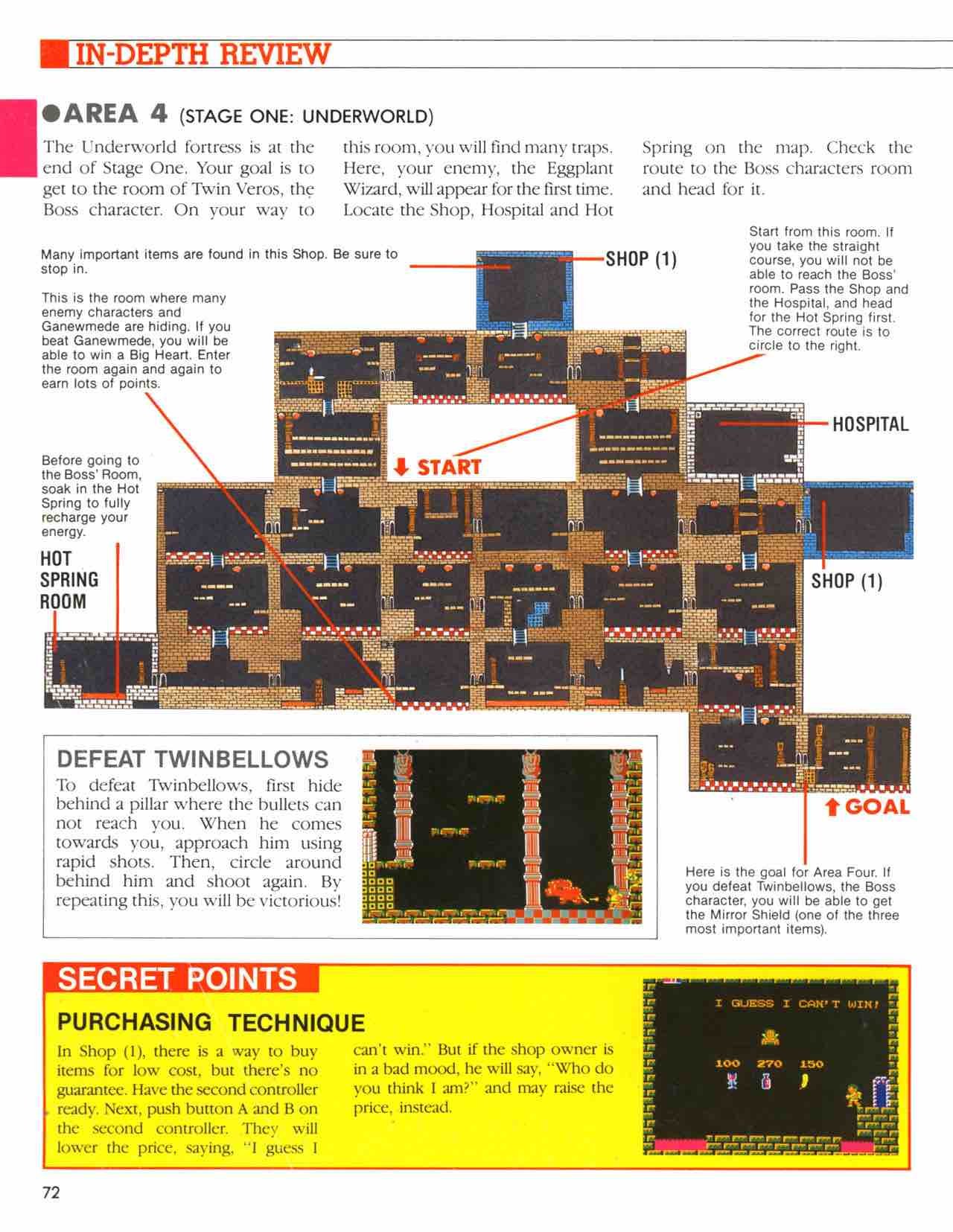 Official Nintendo Player's Guide Pg 72