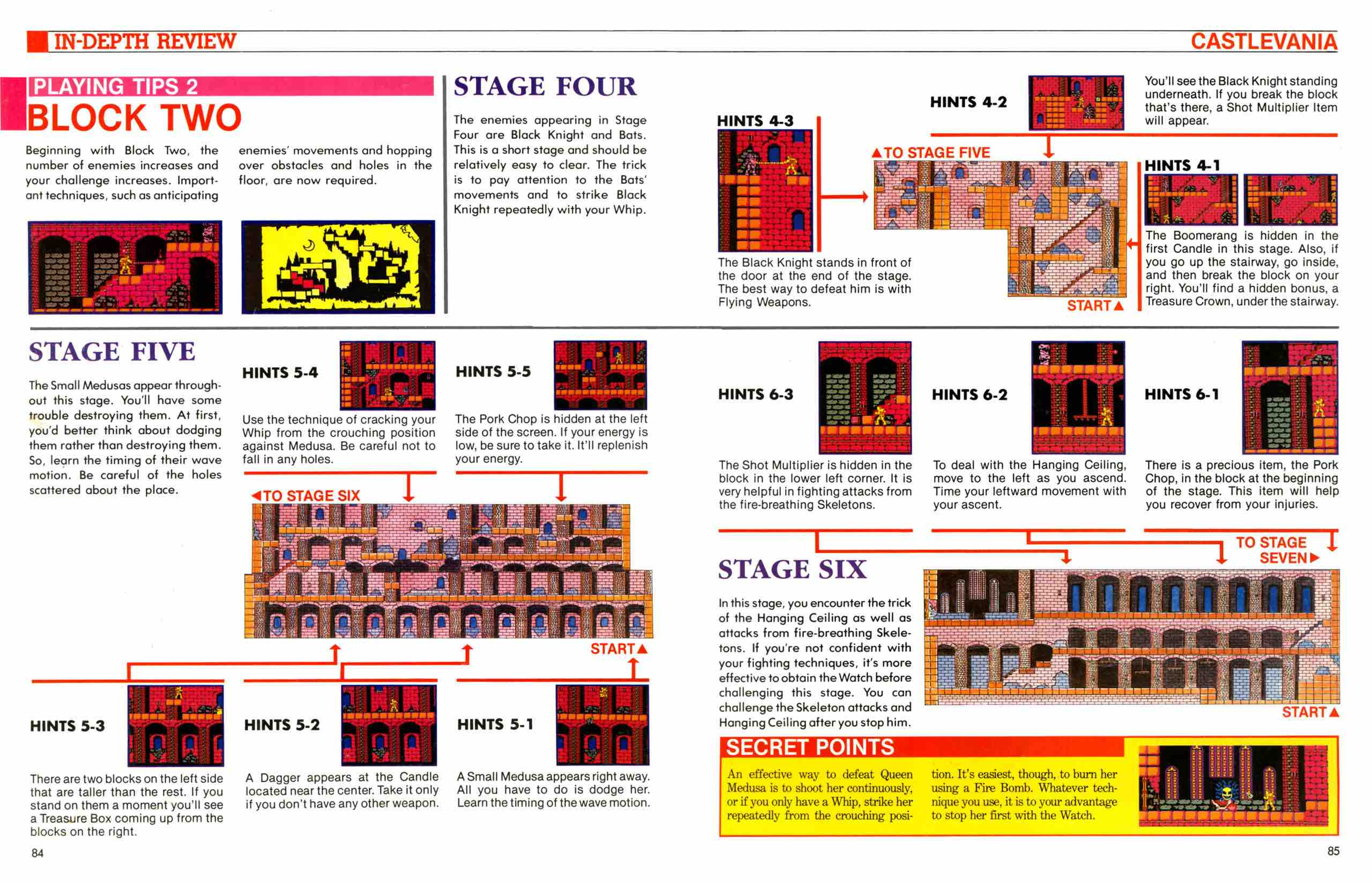 Official Nintendo Player's Guide Pg 84-85