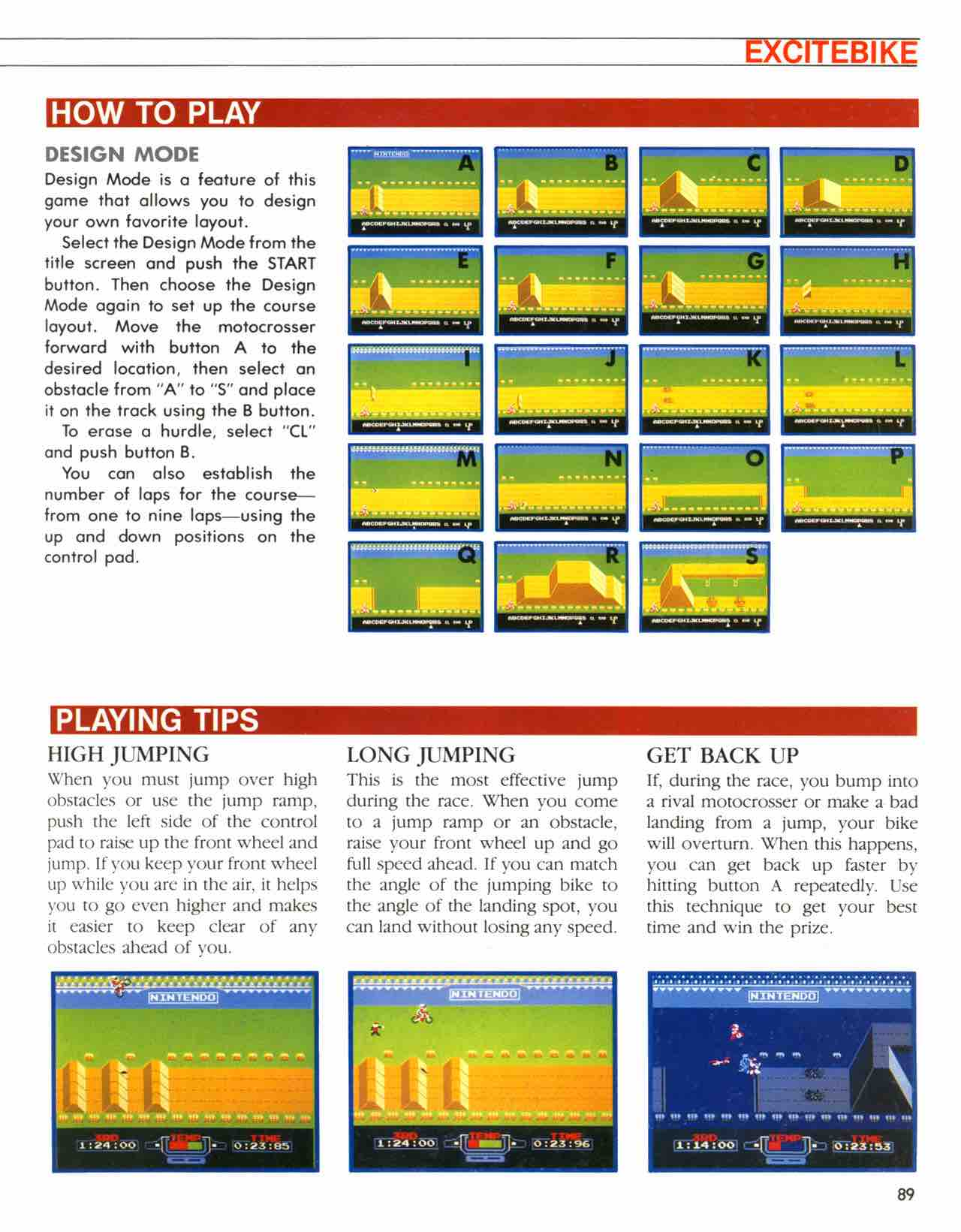 Official Nintendo Player's Guide Pg 89