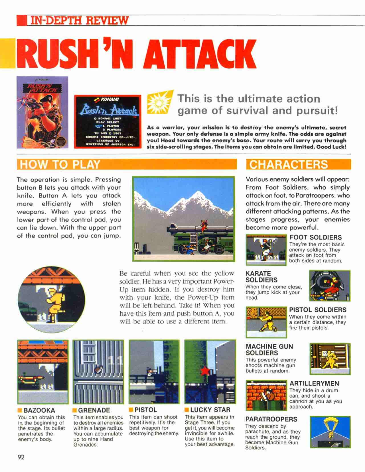 Official Nintendo Player's Guide Pg 92