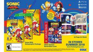 Classic Sonic Ad Recreated For Sonic Mania Plus