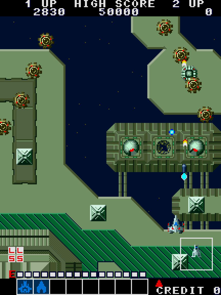 Alpha Mission (Arcade) 02