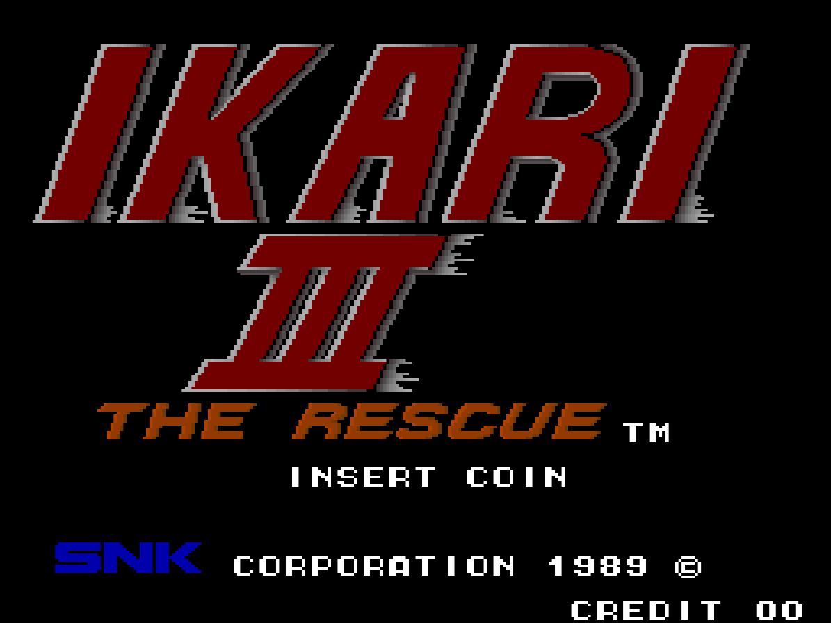 Ikari III - The Rescue (Arcade) 01