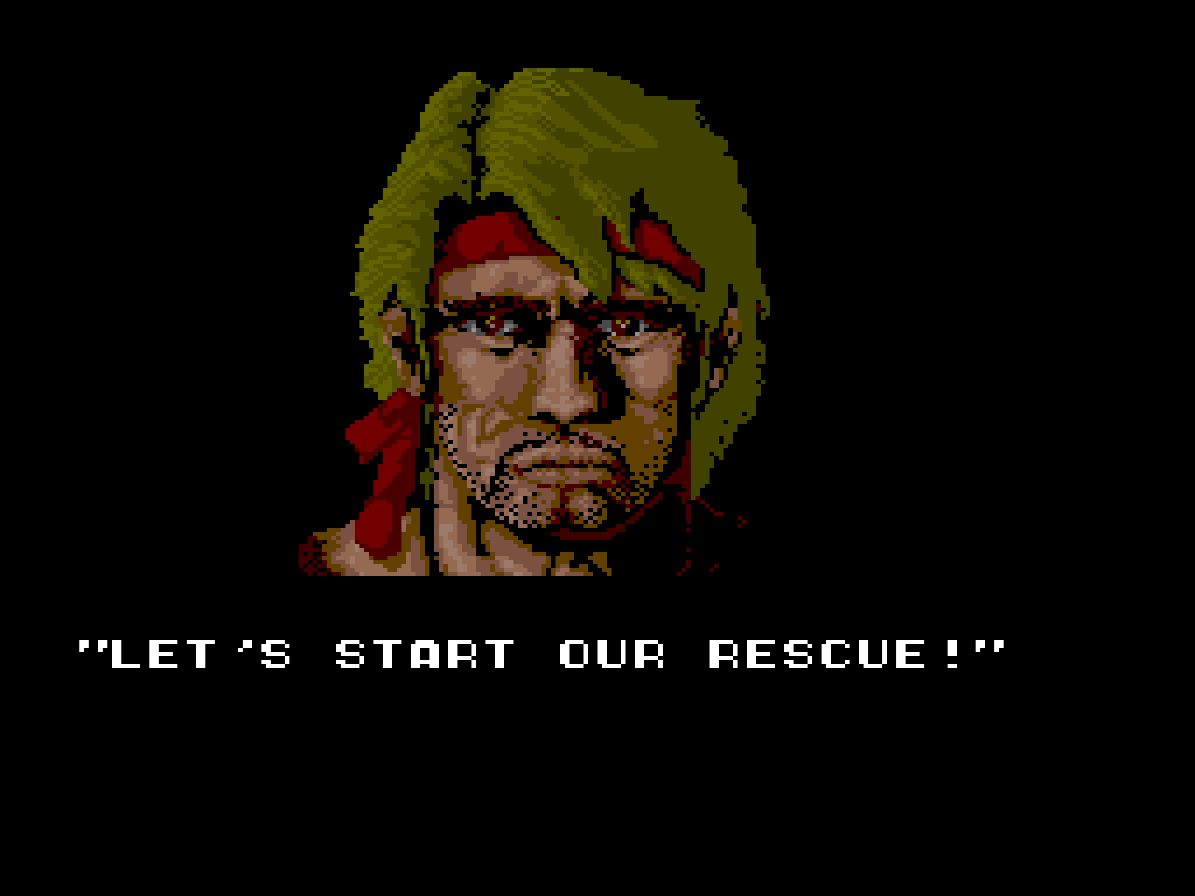 Ikari III - The Rescue (Arcade) 02