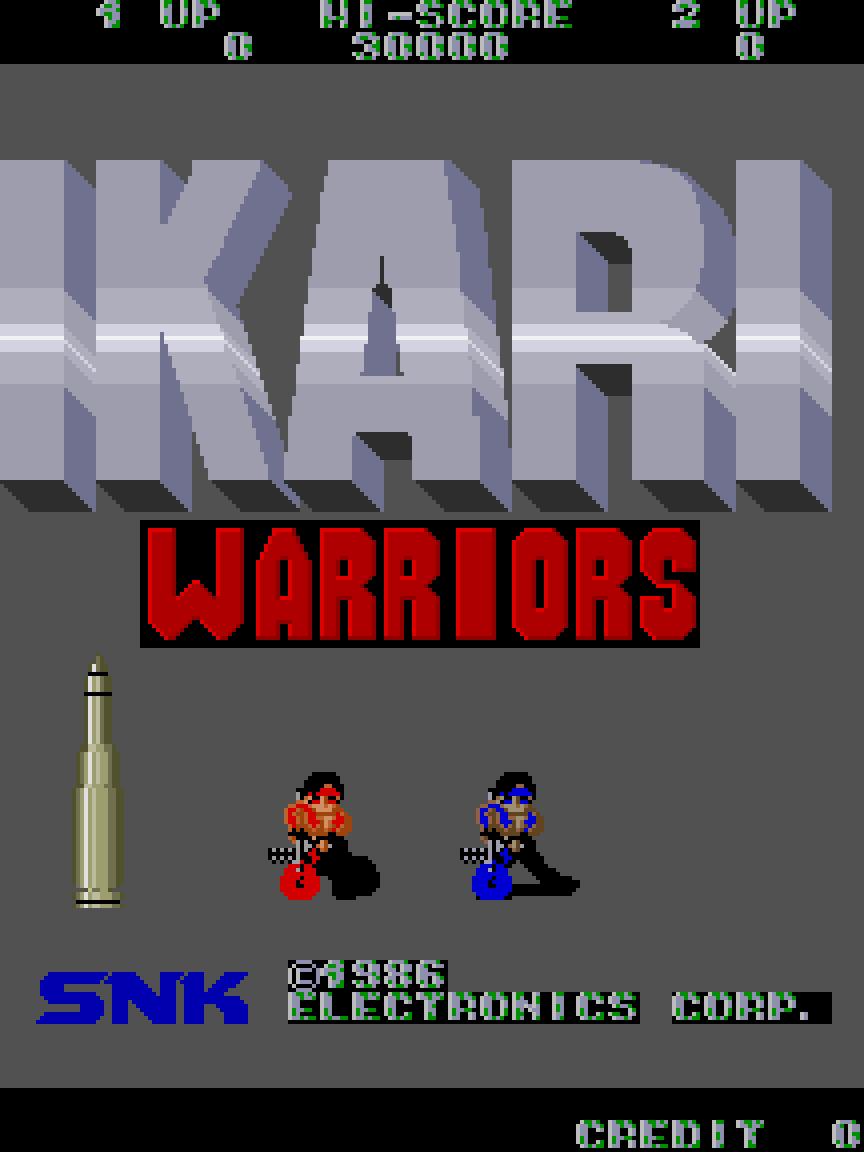 Ikari Warriors (Arcade) 01