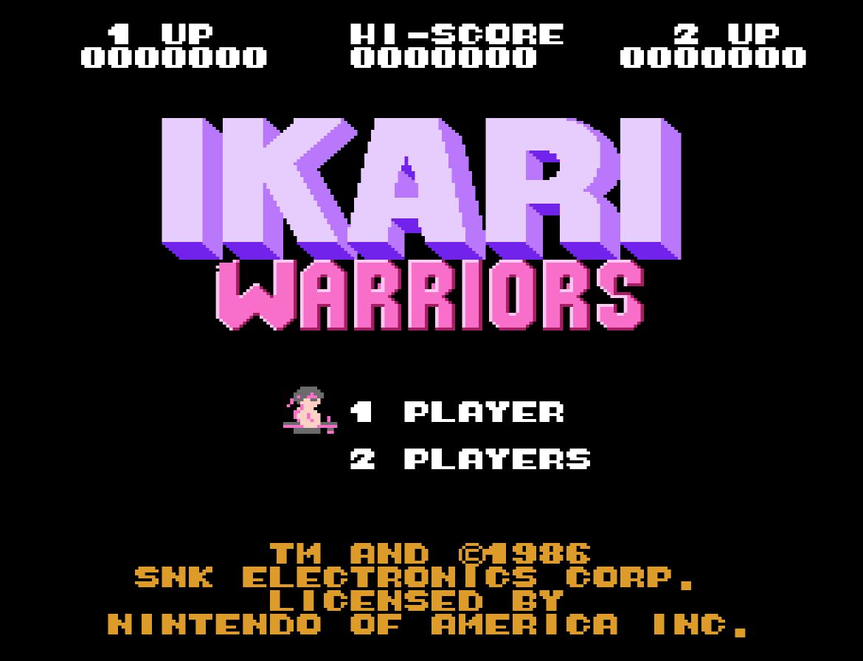 Ikari Warriors (Home) 01
