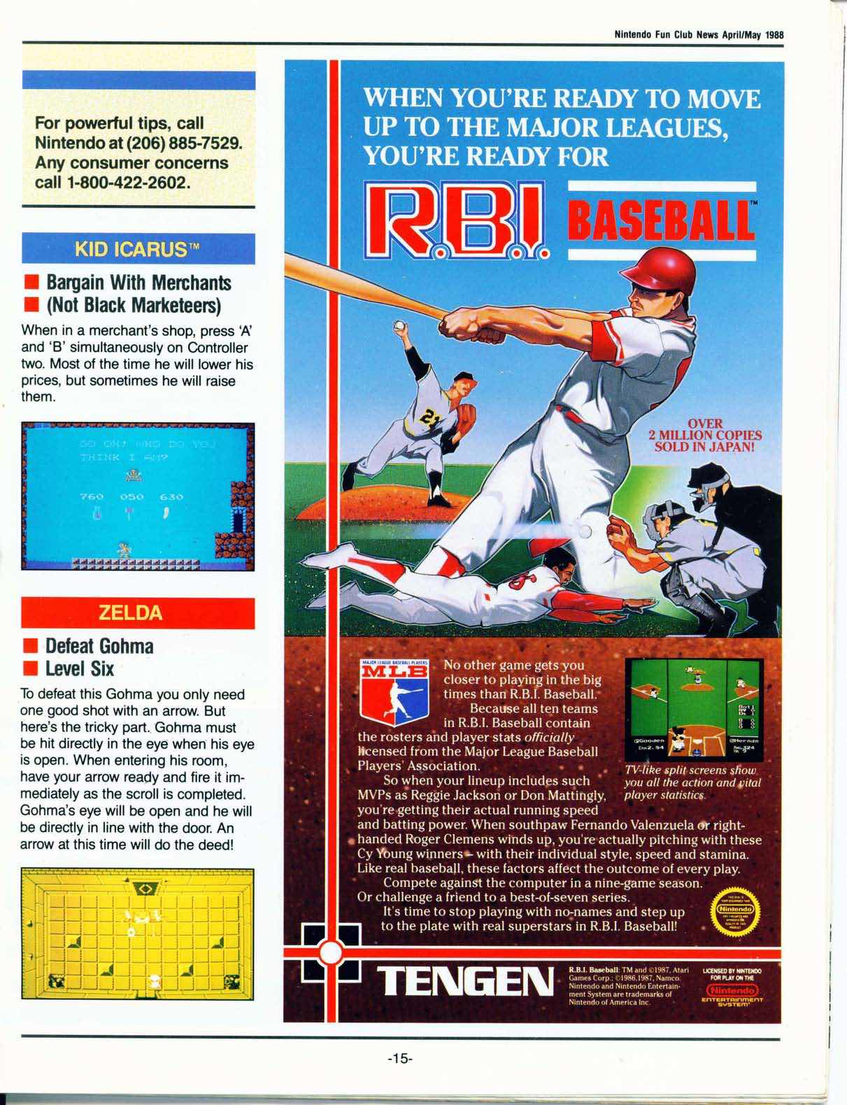 Nintendo Fun Club News April-May 1988 pg15