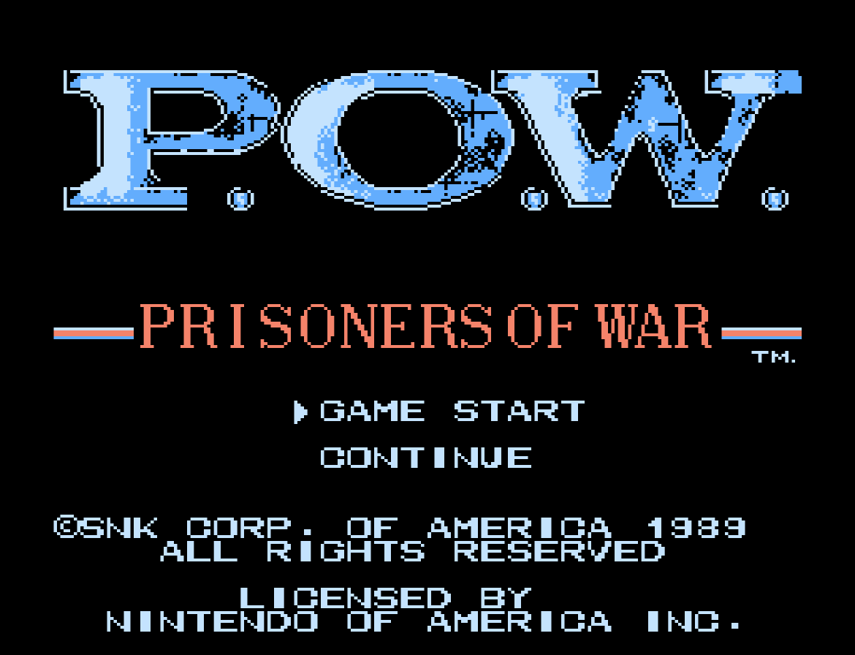 P.O.W. - Prisoners of War (Home) 01