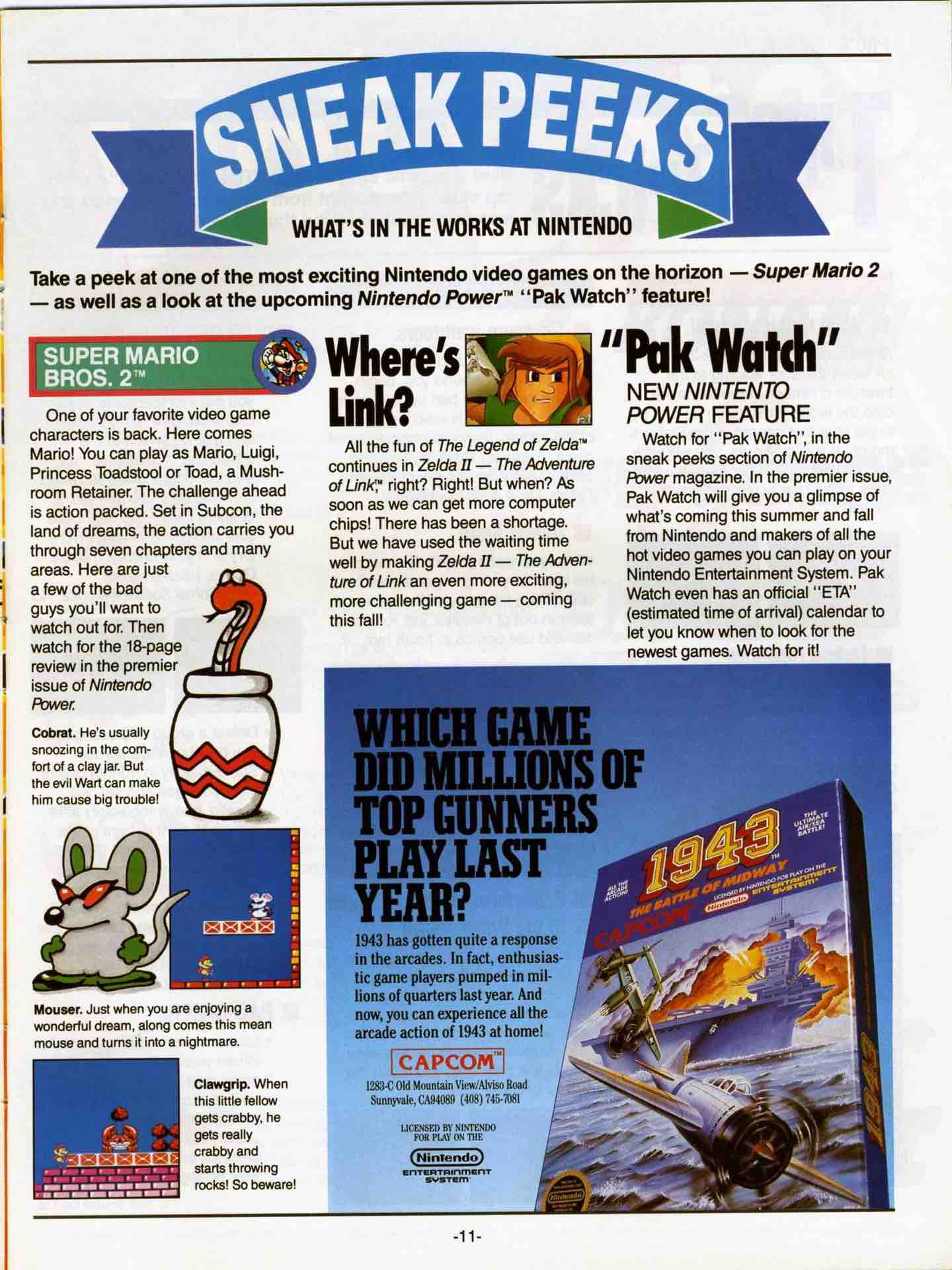 Nintendo Fun Club News | June-July 1988 pg 11