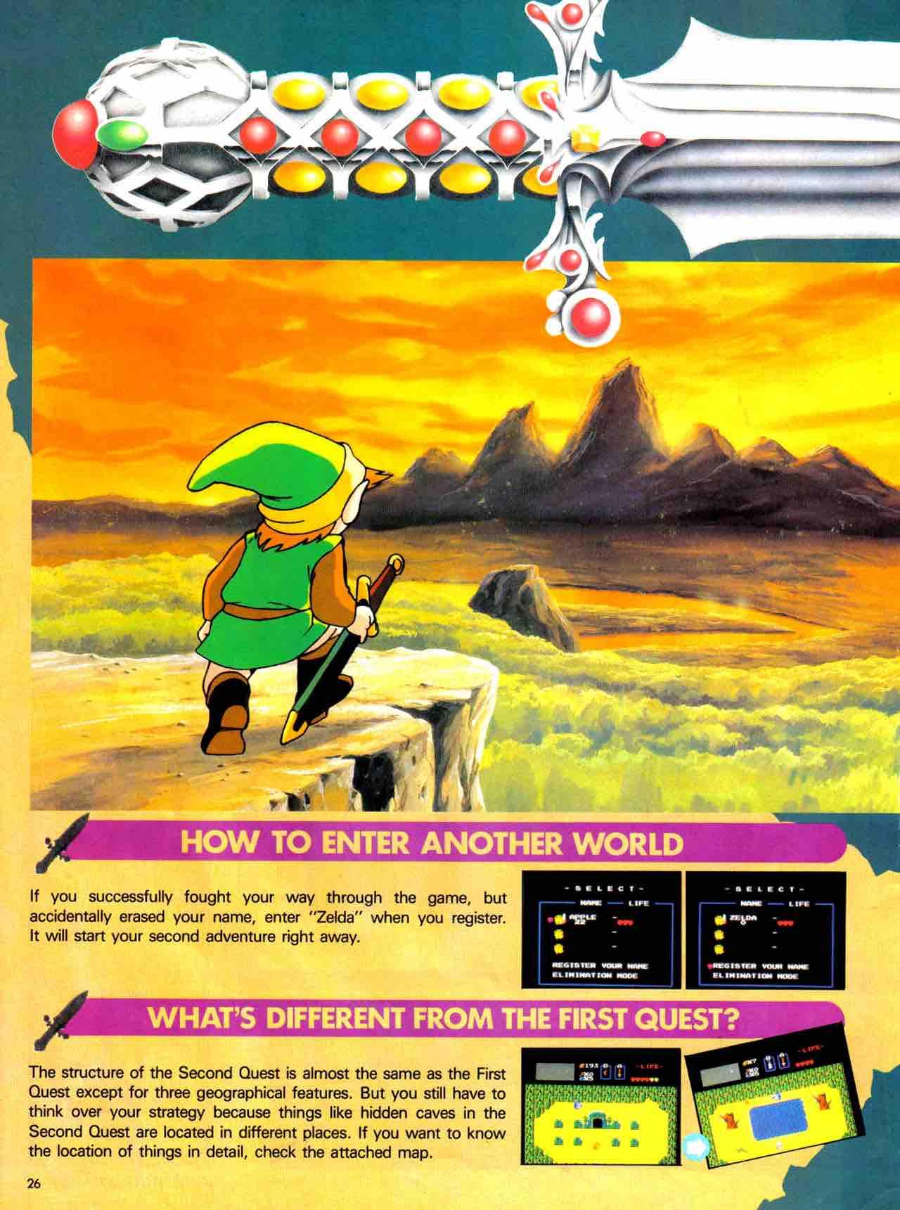 Nintendo Power   July August 1988 - pg 26