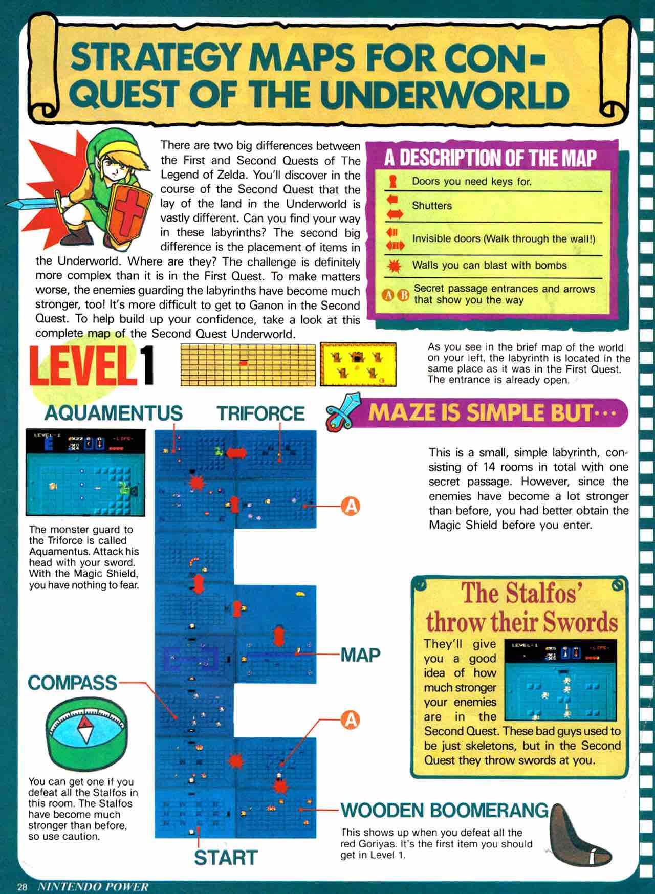 Nintendo Power   July August 1988 - pg 28