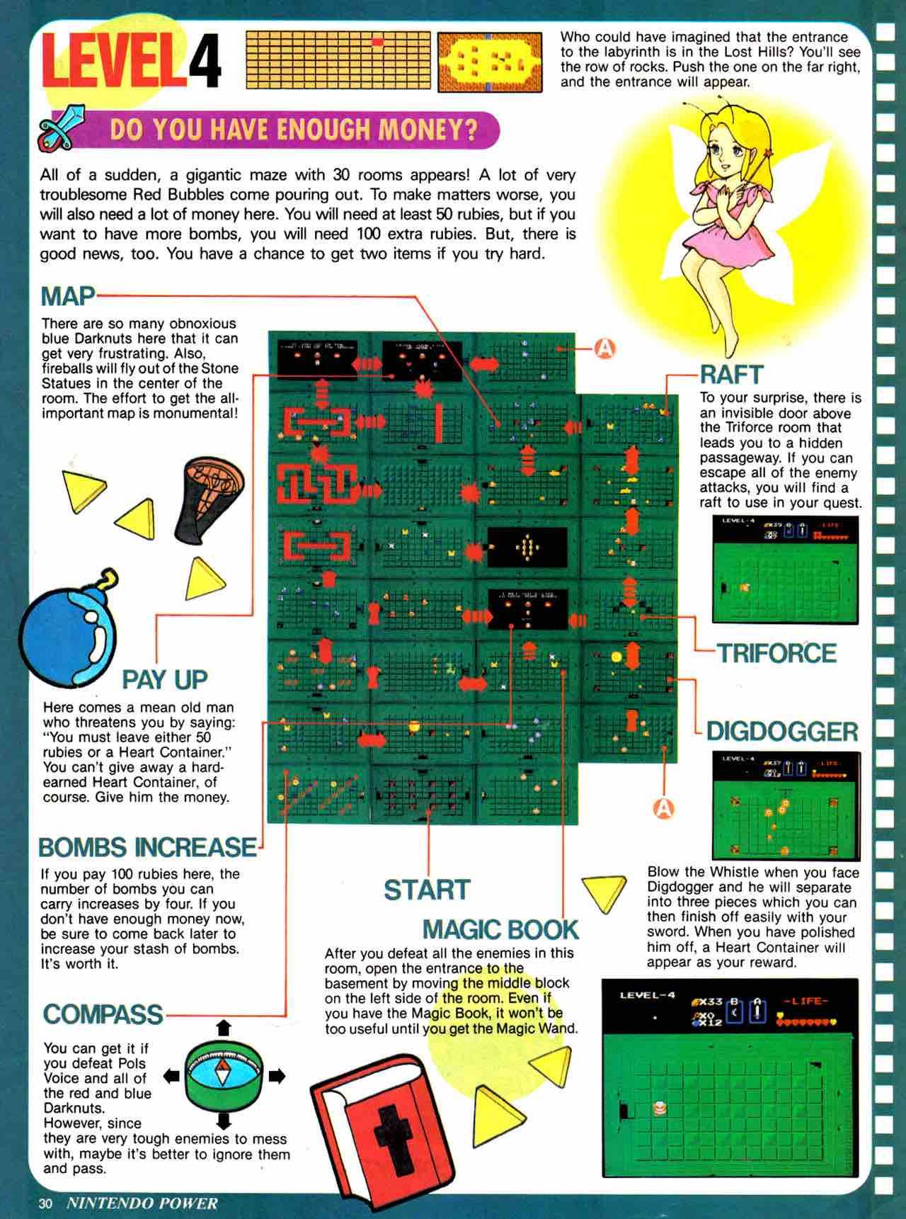 Nintendo Power   July August 1988 - pg 30