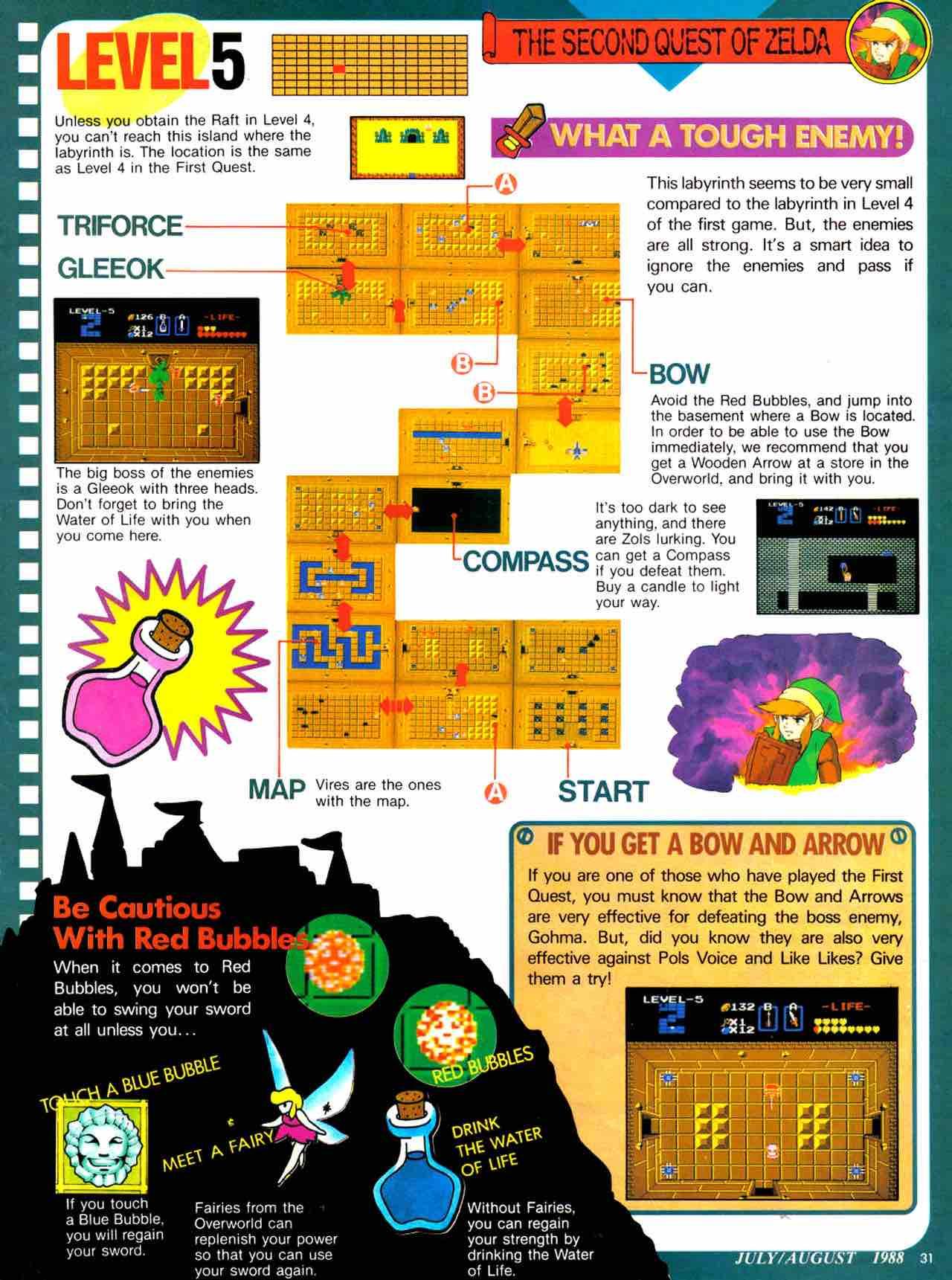 Nintendo Power   July August 1988 - pg 31