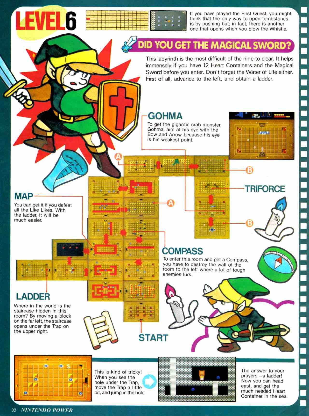 Nintendo Power   July August 1988 - pg 32