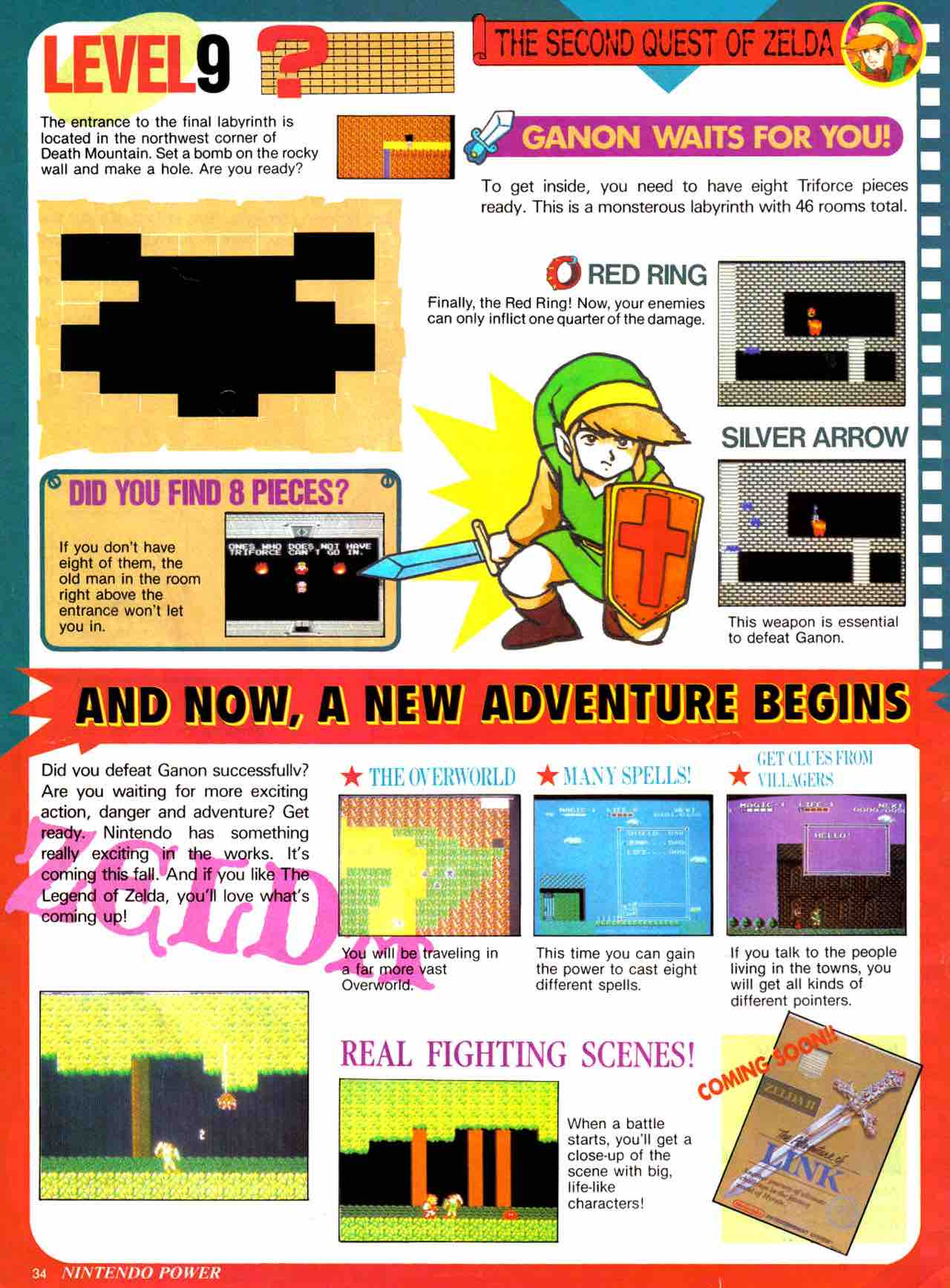 Nintendo Power   July August 1988 - pg 34