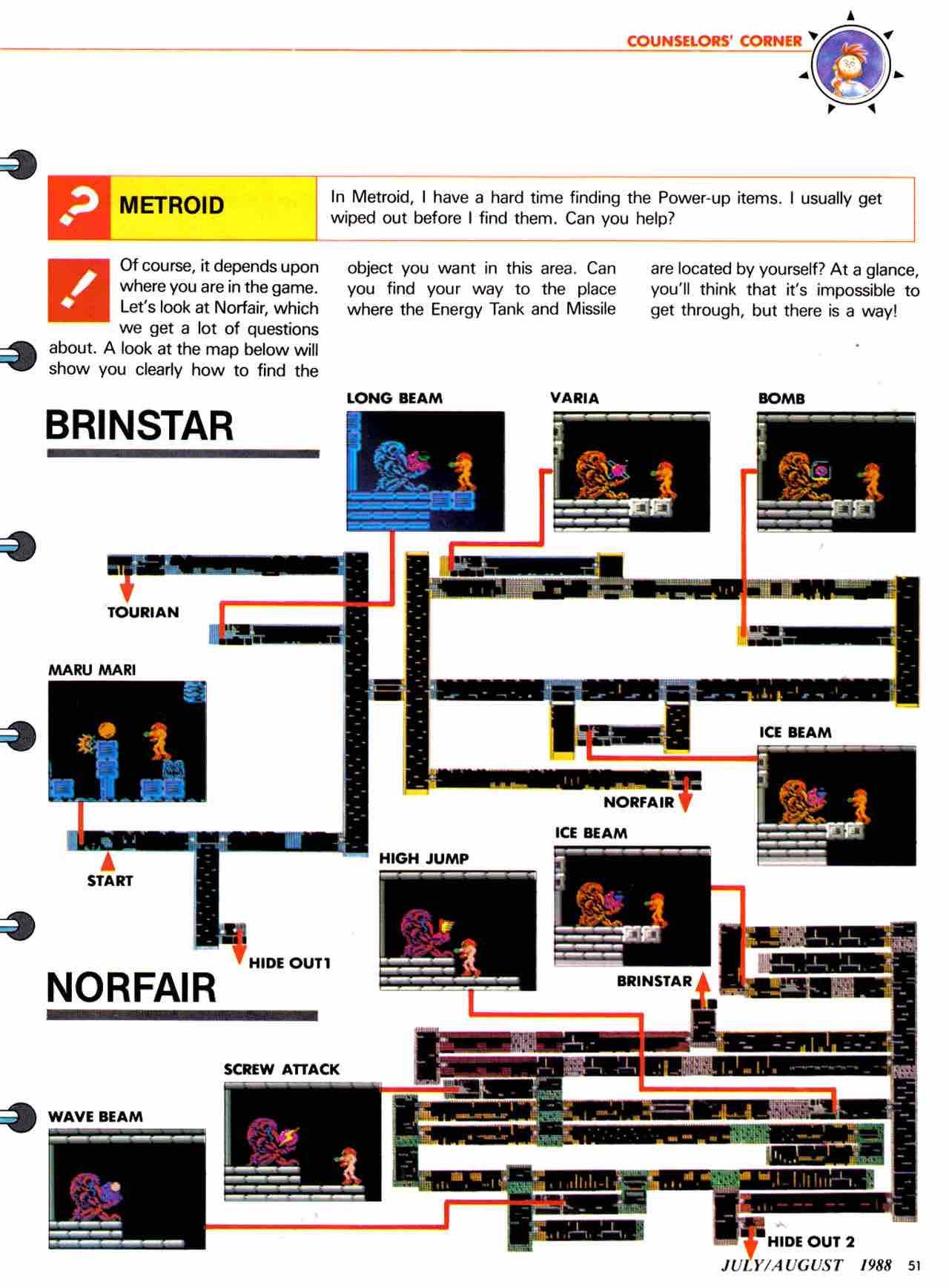 Nintendo Power | July August 1988 - pg 51