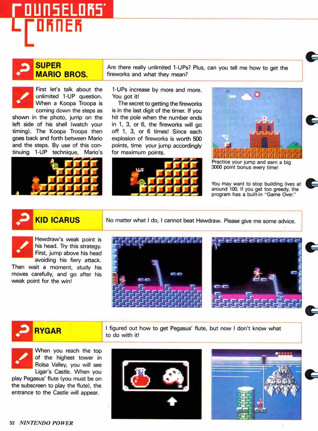 Nintendo Power | July August 1988 - pg 52
