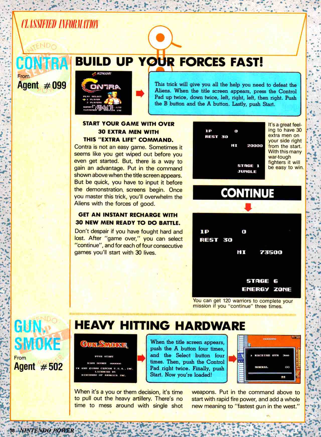 Nintendo Power | July August 1988 - pg 58