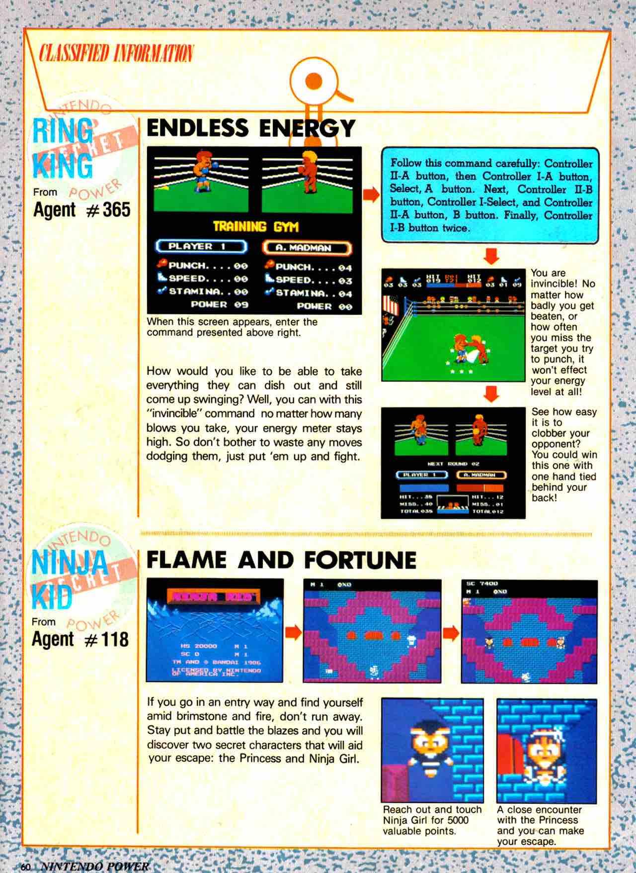 Nintendo Power   July August 1988 - pg 60