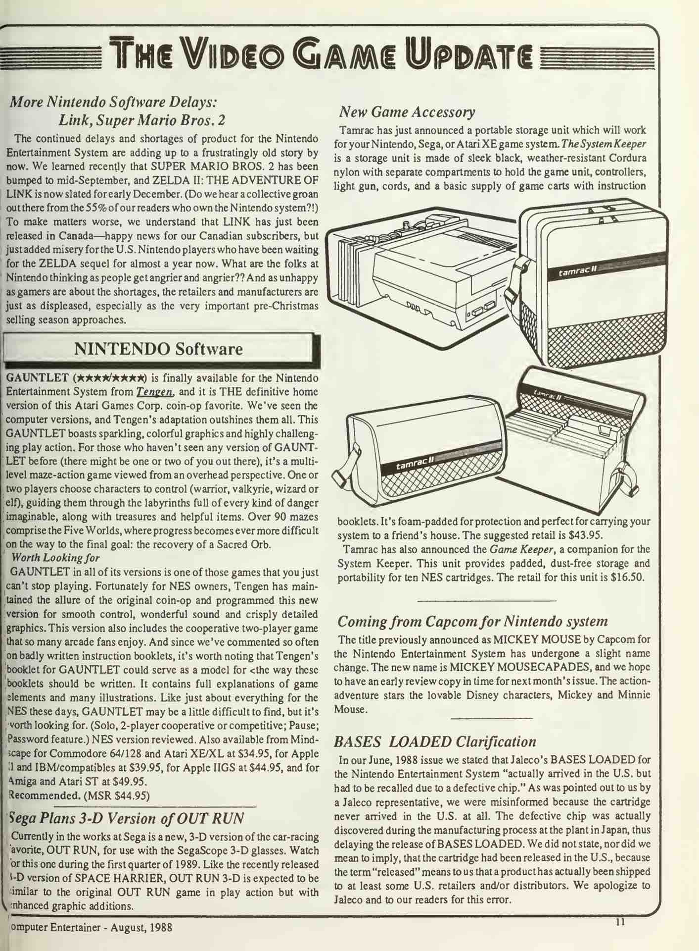 Computer Entertainer | August 1988 - pg 11