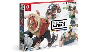 Nintendo Labo Toy-Con 03: Vehicle Kit Game Hub