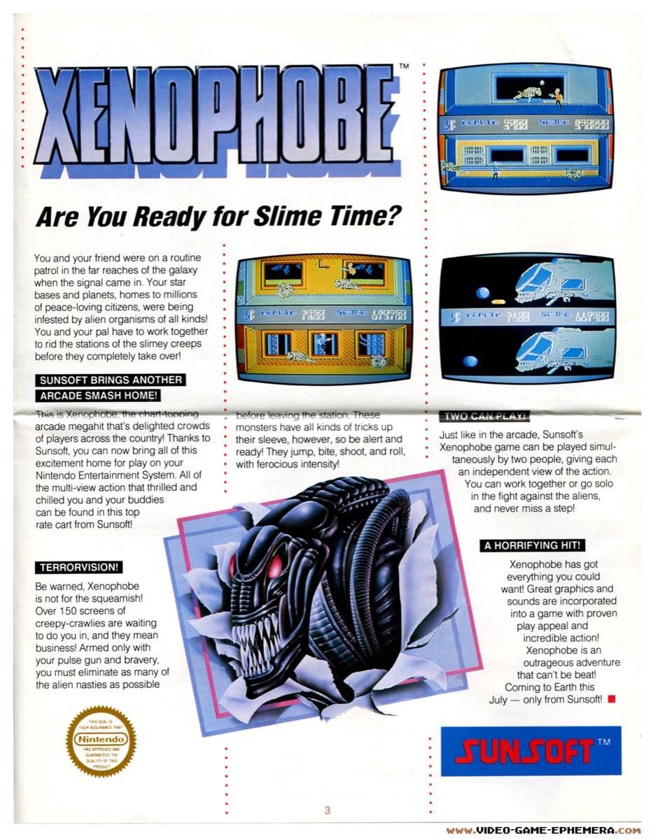 Sunsoft Game Time News | Summer 1988 - Pg 3