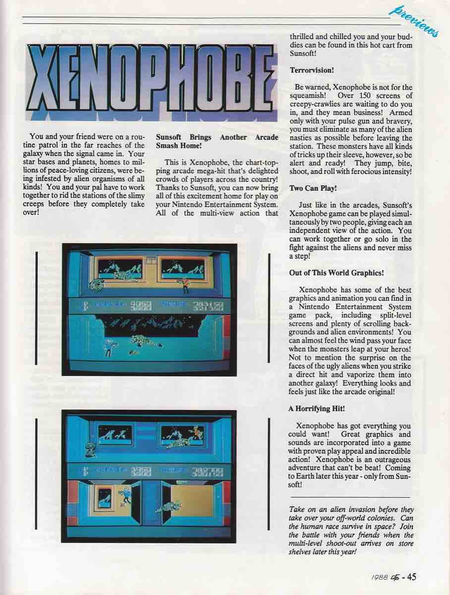 Electronic Game Player | Sept Oct 1988-45