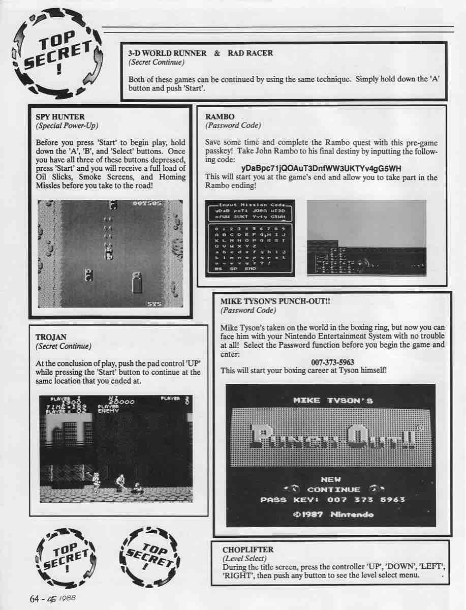 Electronic Game Player | Sept Oct 1988-64