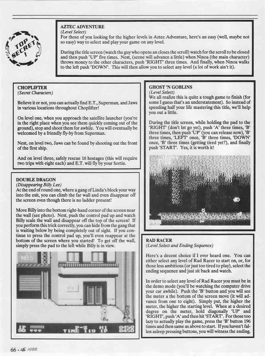 Electronic Game Player | Sept Oct 1988-66