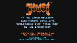 Joust (NES) Game Hub