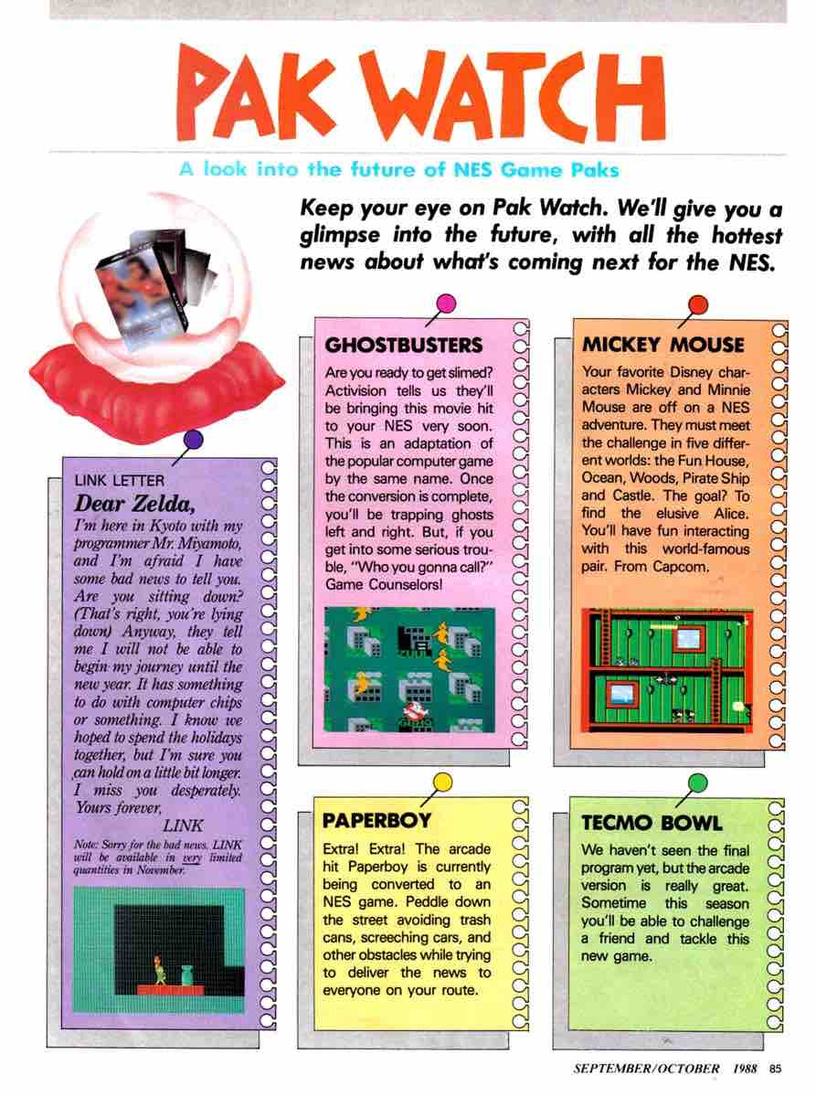 Nintendo Power | Sept Oct 1988-85