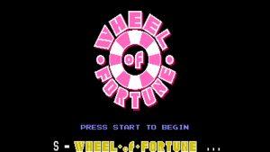 Wheel Of Fortune (NES) Game Hub