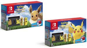 Nintendo Switch Pikachu & Eevee Editions Releasing November 16