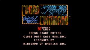 Cobra Command (NES) Game Hub