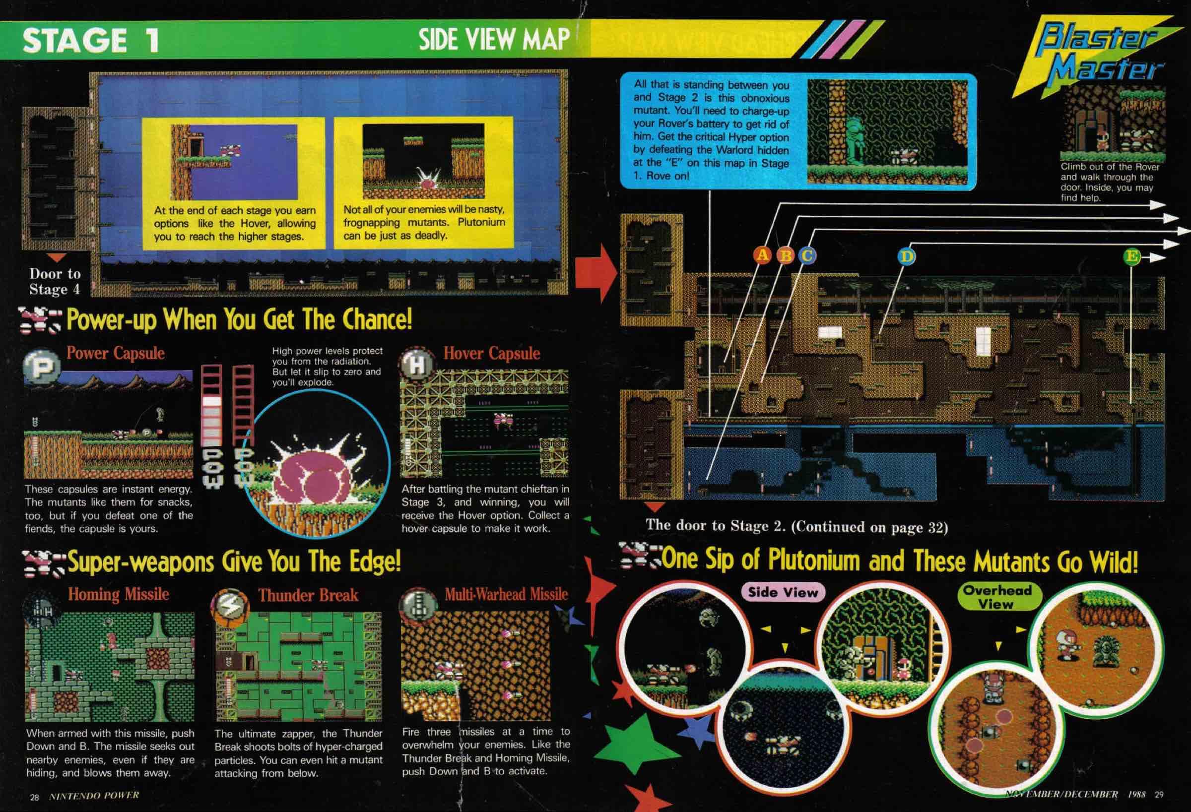 Nintendo Power | Nov Dec 1988-28-29