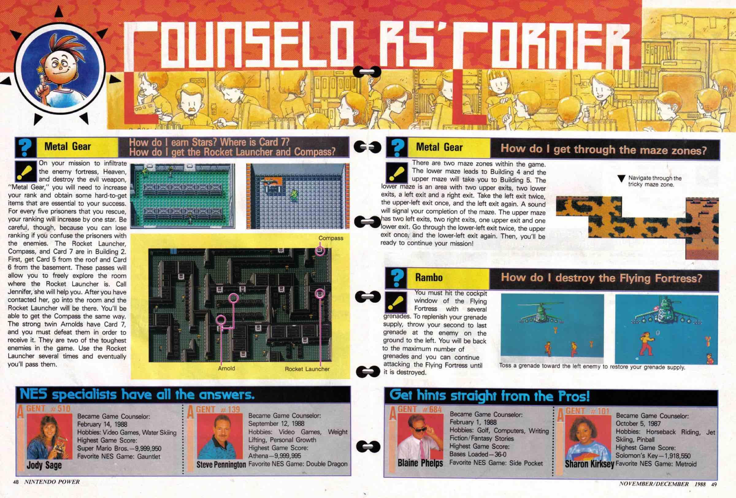 Nintendo Power | Nov Dec 1988-48-49