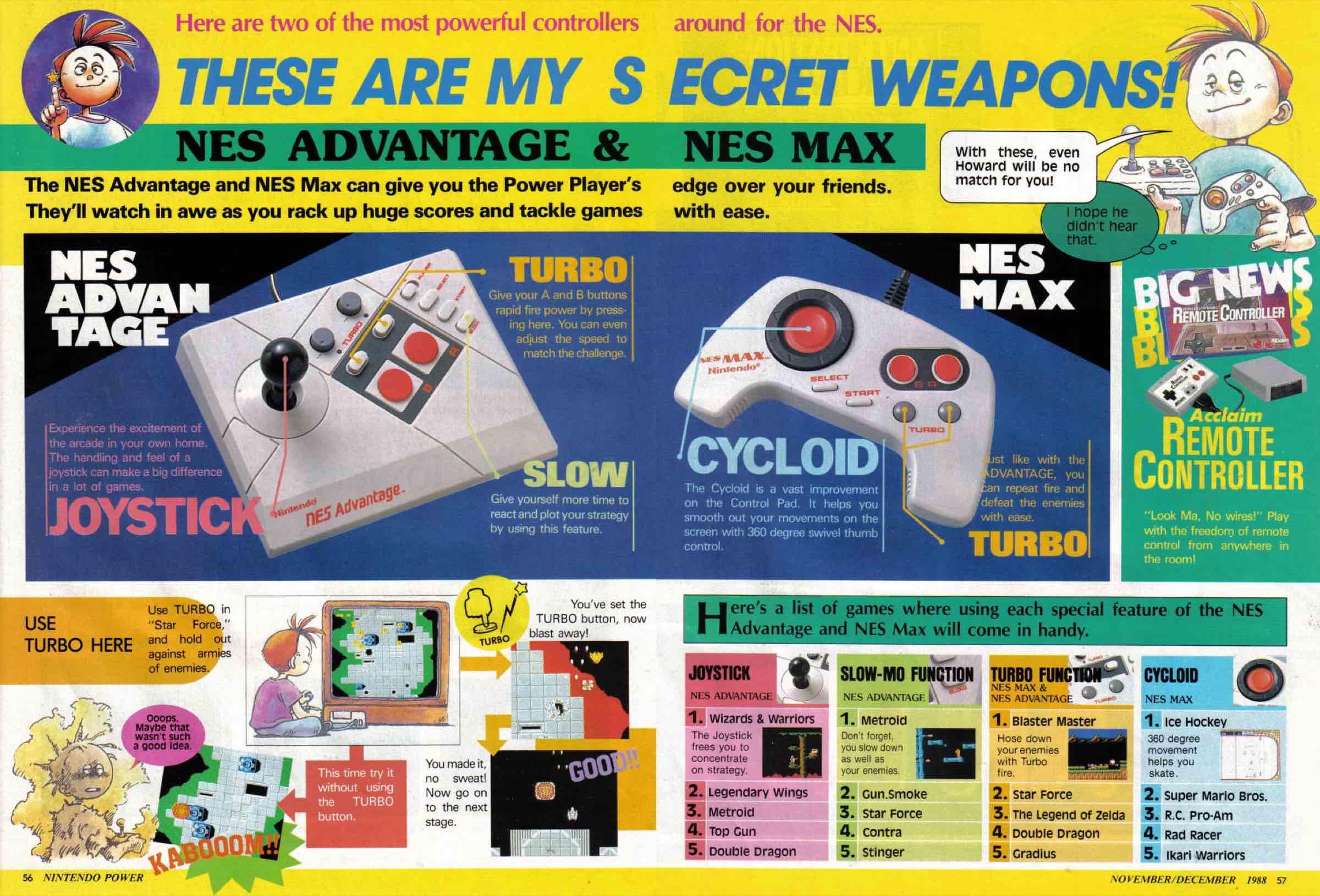 Nintendo Power | Nov Dec 1988-56-57