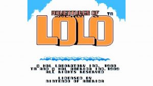 Adventures Of Lolo (NES) Game Hub