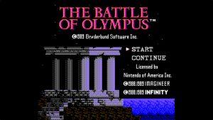Battle Of Olympus (NES) Game Hub