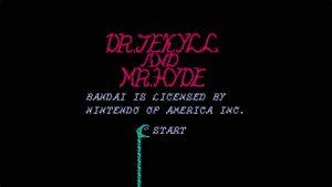 Dr. Jekyll & Mr. Hyde (NES) Game Hub