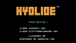 Hydlide (NES) Game Hub