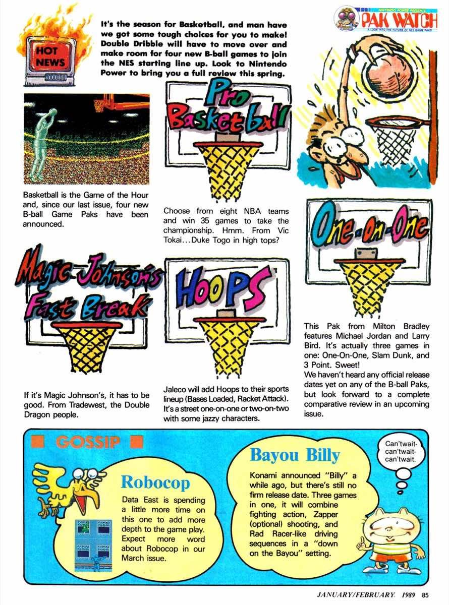 Nintendo Power | Jan Feb 1989-85