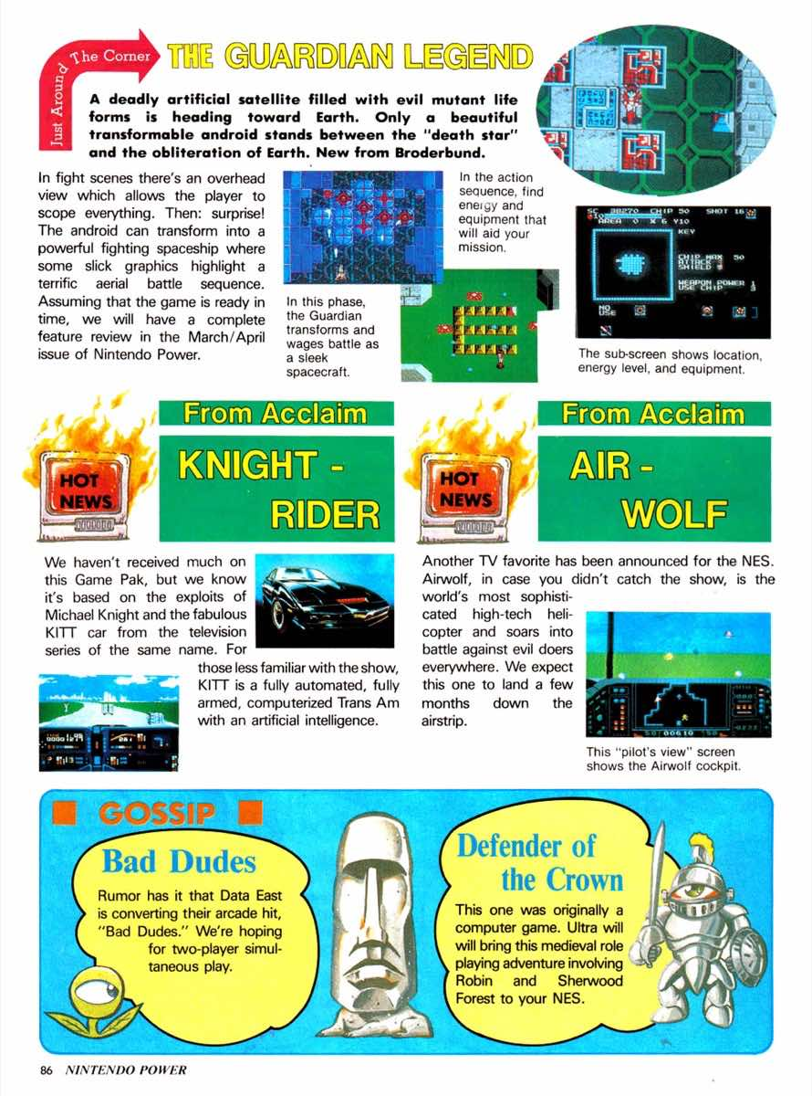 Nintendo Power   Jan Feb 1989-86