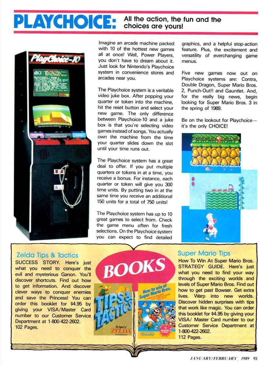 Nintendo Power | Jan Feb 1989-93
