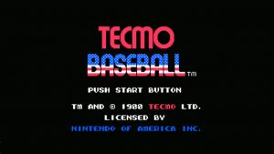 Tecmo Baseball (NES) Game Hub