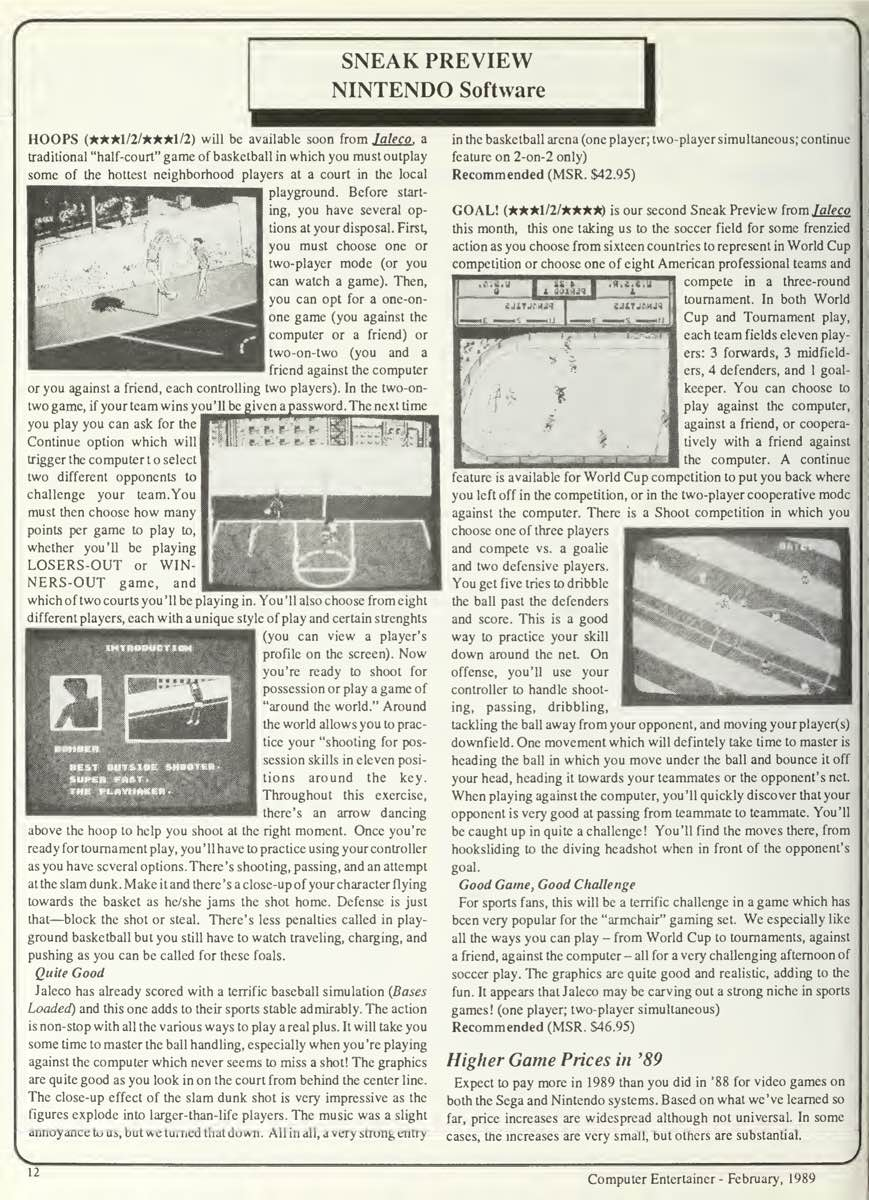Computer Entertainer   February 1989 pg12